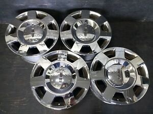 4 Lincoln Navigator Mark Lt Ford F 150 F150 Expedition Wheels Rims Caps 18