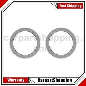 2 Mahle Exhaust Pipe Flange Gasket For Isuzu Axiom
