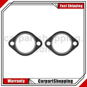 2 Mahle Exhaust Pipe Flange Gasket For Ford F 100