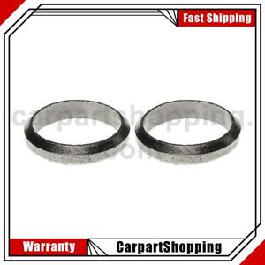 2 Mahle Exhaust Pipe Flange Gasket For Checker Marathon