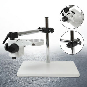 Microscope Holder Platform Microscope Focusing Stand Table Stand 76mm Ring