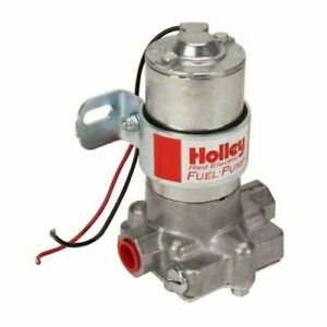 Holley 12 801 1 Red Standard Pressure Electric Gasoline Fuel Pump Street Strip