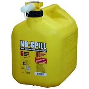 No spill 1457 Diesel Fuel Can Yellow