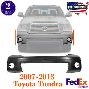 Front Bumper Cover Primed For 2007 2013 Toyota Tundra Limited Rock Warrior Sport