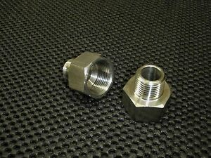 Stainless Steel Adapter Reducer 3 8 Female X 1 4 Male Npt Pipe Ar 037f 025m