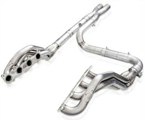 Stainless Works Ft18hor Off road Long tube Headers 2015 2019 Ford F 150 5 0l 1 8