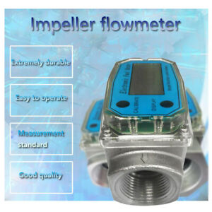 1 Inch Automatic Turbine Digital Diesel Oval Gear Fuel Water Flow Meter Bspt npt