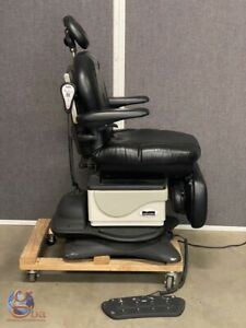 Midmark 641 Power Table Exam Chair W Rotating Base Arms Hand Foot Controller