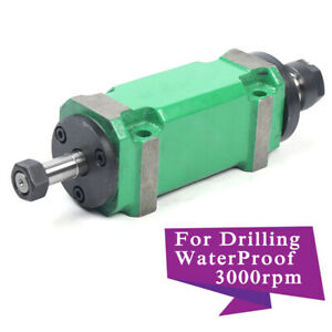 Power Head Spindle 750w 3000 8000rpm Waterproof Drilling Milling Cutting Device