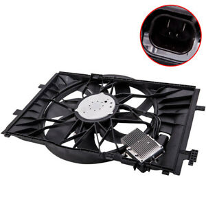 Radiator Cooling Fan Assembly Fit Mercedes benz C230 C240 C280 C320 2035000293