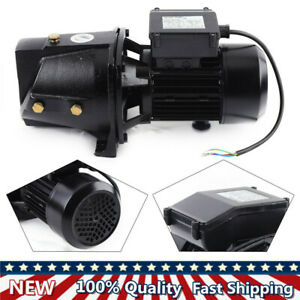 Shallow Well Jet Pump 1 Hp 750w Commercial Water Pump 110v 44 Ip pressure Switch