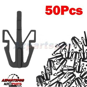 50pc Grille Clip Retainer For Mitsubishi Diamante Mirage Outlander Montero Sport