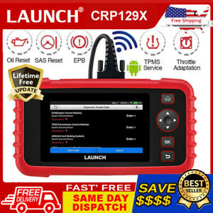 Launch Crp129x Obd2 Scan Tool Android 4 System Diagnostic Oil Reset Epb Sas Tpms