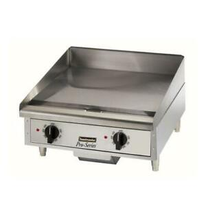 Toastmaster Tmgt24 24 In Pro series Thermostatic Countertop Gas Griddle