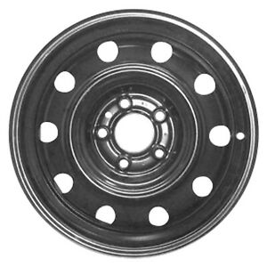 New 16x6 5 Black Steel Wheel Replica For 2008 2010 Dodge Avenger 560 02283
