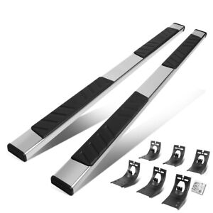 For 2009 2020 Dodge Ram 5 Od Extended Cab Flat Step Bar Running Board Chrome