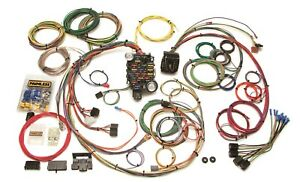 Painless Wiring 20102 25 Circuit Classic Plus Customizable Chassis Harness
