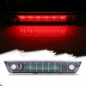 For 2005 2010 Jeep Grand Cherokee Clear Lens Third 3rd Brake Led Stop Light Lamp