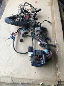 Jeep Yj Wrangler Under Dash Wiring Harness 87 88 89 90 Fuses Sahara Hard Top