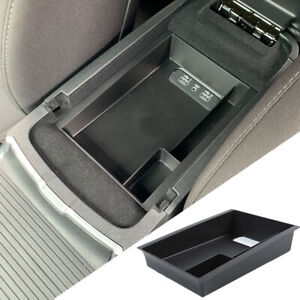Center Console Armrest Storage Box Insert Organizer Tray For Dodge Charger 2015