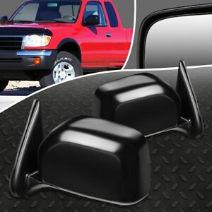 For 2000 Toyota Tacoma Pair Oe Style Manual Adjustment Side View Door Mirror Set