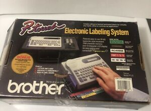 Brother P touch Electronic Labeling System