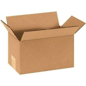 9x5x5 25 Pack Cardboard Paper Boxes Premium Packing Shipping Corrugated Carton