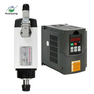 3kw Er20 Square Air Cooling Spindle Motor Huanyang Variable Frequency Drive Vfd