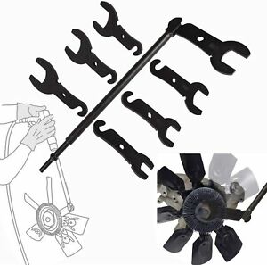 43300 Pneumatic Fan Clutch Wrench Set Removal Tool For Ford gm chrysler And Jeep