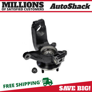 Front Left Steering Knuckle With Bearing For 2006 2008 2009 2010 2011 Ford Focus