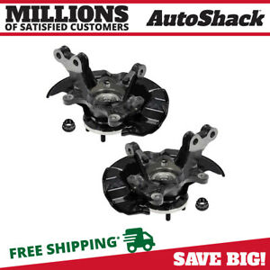 Front Steering Knuckle With Bearing Pair For 2009 2013 Toyota Matrix Corolla