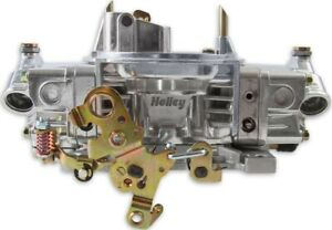 Brand New Holley 650 Cfm Double Pumper Carburetor 4150 Manual Choke Mechanical