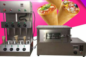 110v Commercial Pizza Cone Forming Making Machine With Oven Make Cone Pizzanew