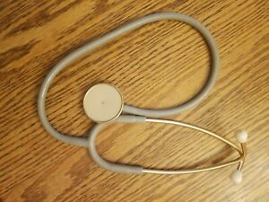 Littman Stethoscope 3m Grey Made In Usa Vintage And Working Euc