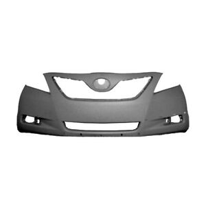 Fits 2007 2009 Toyota Camry Front Bumper Cover 101 50252a Capa