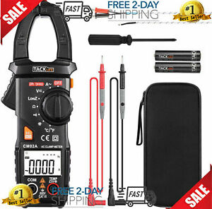 Fluke Tester Dc Voltage Rms Amp True Test Clamp Digital Meter Ac Multimeter New