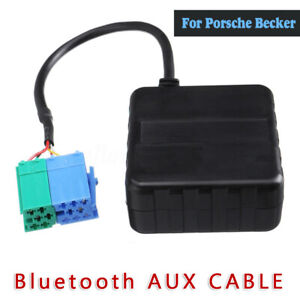 Car Bluetooth Module Aux Cable Adapter For Porsche Becker Mexico Traffic Pro Dtm