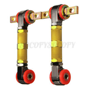 Adjustable Racing Rear Suspension Camber Control Arm Kit For Honda Civic