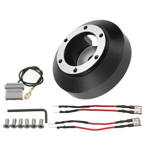 For Nissan 350z 370z Quick Release Steering Wheel 6 Hole Short Thin Hub Adapter