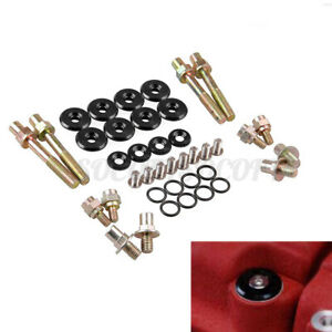 Low Profile Engine Valve Cover Washer Bolt Kit For Honda Acura B Series B16