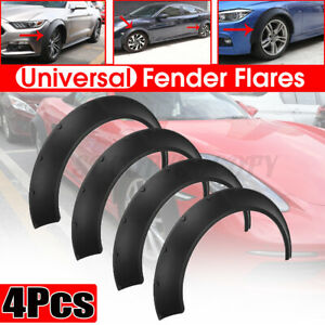 4pcs Universal Front Rear Fender Flares 3 5 3 9 Wide Body Wheel Arches