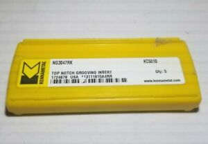 Ng3047rk Kc5010 Kennametal 3 Inserts Factory Pack