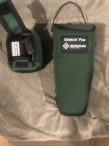 Greenlee Sidekick Plus Advance Cable Test Set W Impulse Noise Tdr Much More
