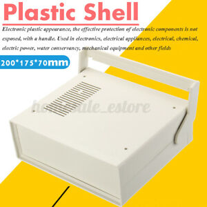 Plastic Shell Electronics Project Box Case Enclosure Instrument Mounting Screw