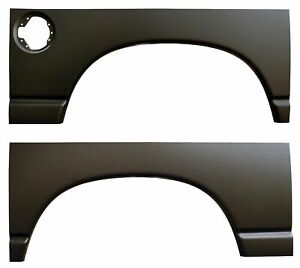 Rear Wheel Arch Quarter Bed Panels W Gas Hole For Dodge Ram 2002 2008 Pair