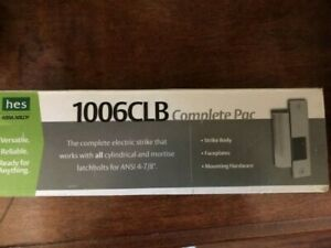 Assa Abloy Hes 1006clb Electric Strike Complete Pac