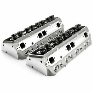 Speedmaster Pce281 2001 Small Block Chevy 350 Aluminum Cylinder Heads 190cc 64