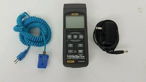 General Tools Dt4947sd 4 channel Thermocouple Thermometer 328 2498 f W Sd Card
