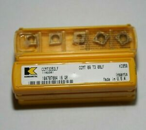 Ccmt 32 52 Lf Kc850 Kennametal 10 Inserts Factory Pack