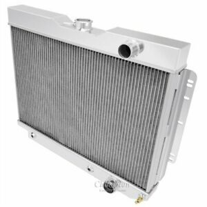 Champion Cooling Systems Cc281ps All aluminum Radiator 1960 1965 Chevrolet Bel A